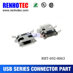 5 P женский B Тип SMT Micro USB разъем Micro USB 10 Pin Mini USB 10pin разъем