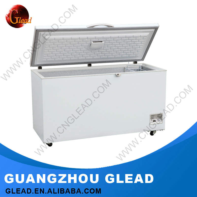 2016 hot sale ice cream used lpg gas chest freezer
