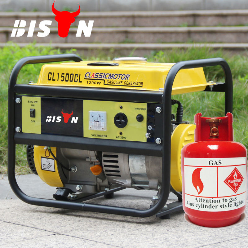 BISON(CHINA) Light Weight Easy Carry Mini Gas Generator With Strong Frame