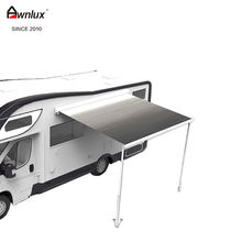 high quality outdoor 12V motor trailer camper rv awning