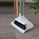 New product wholesale long handle stainless steel broom and dustpan set