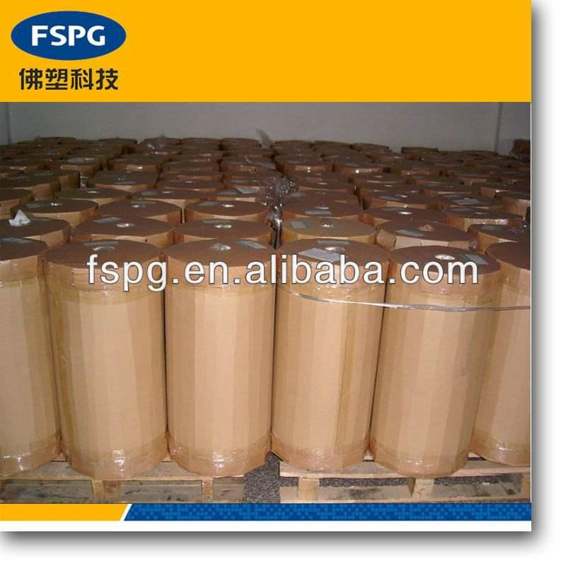Transparent plain BOPP film for bag