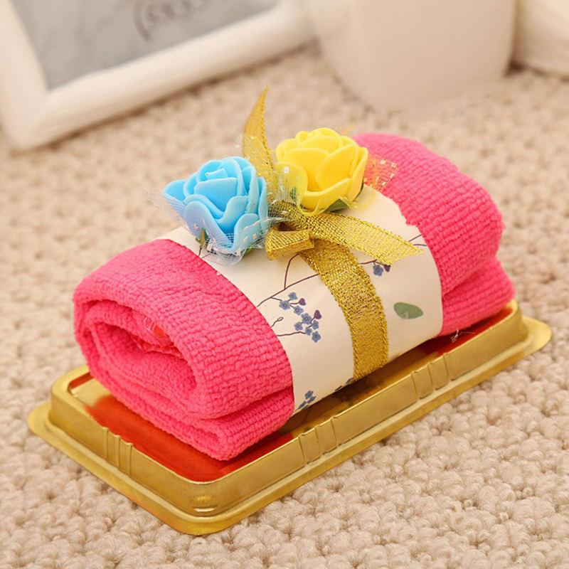 бумажный картинки подарок из полотенца заднем