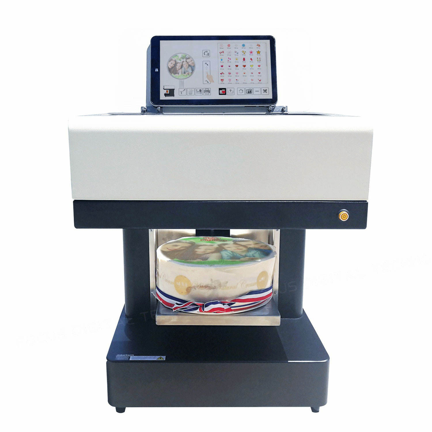 Cheap 3D picture coffee cake milk print machine for coffee shop