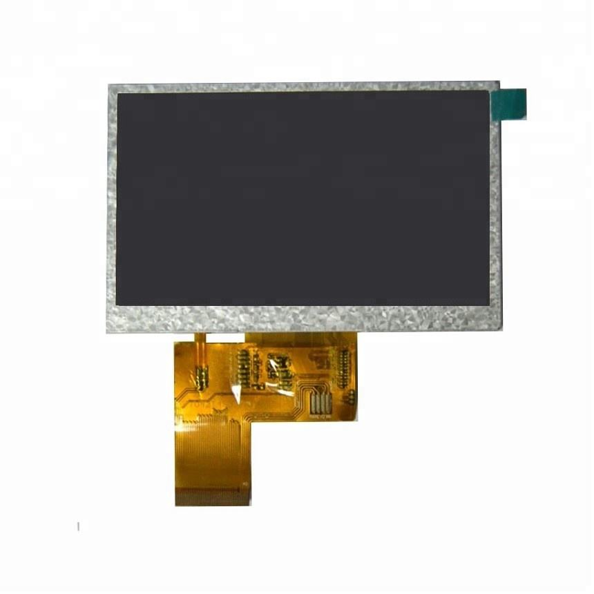 480*272 screen module for video brochure 4.3inch tft lcd