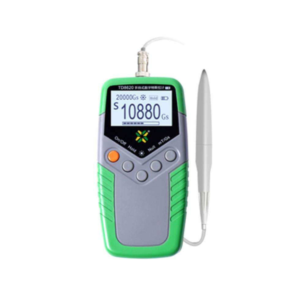 [ Handheld ] Portable Handheld Single-axis Gauss Meter Electromagnetic Radiation Detector For Measuring Electromagnetic Fields EMFs