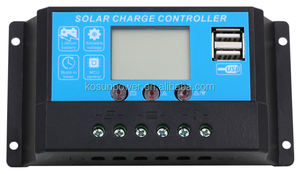 12V/24V 10A Auto Switch Pwm Solar Power Controller