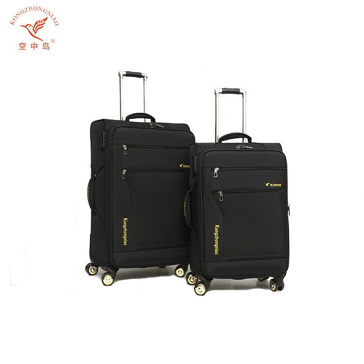 中国サプライヤー900d生地ナイロンソフトトロリー安い荷物