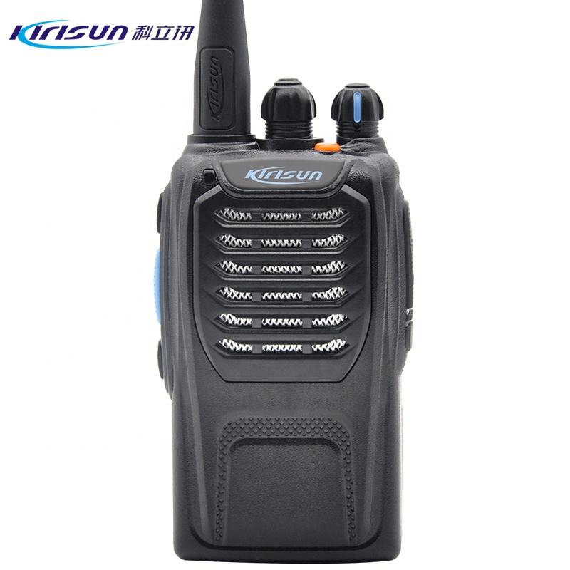 Radio Bidirectionnelle de poche Professionnel UHF Talkie-walkie Kirisun PT558D