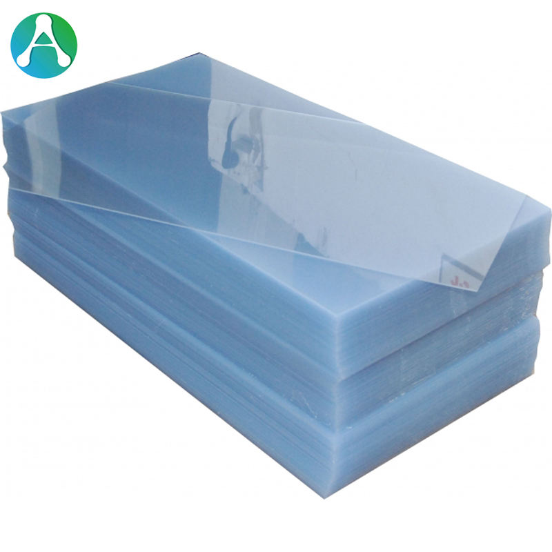0.5mm Clear Rigid 4x8 PVC Plastic Sheet Transparent