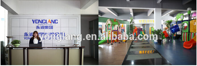Playground Amusement Park YL-E006 Outdoor Playground LLDPE Galvanized Pipe Material Amusement Park