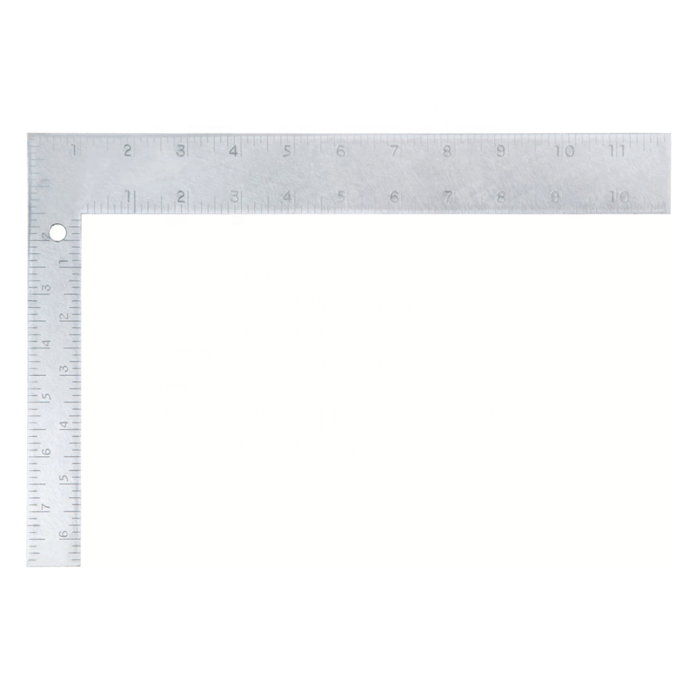 600mm Carbon Steel Try Square Ruler