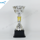 New Design Silver Plastic Trophies Award Cup for Souvenir