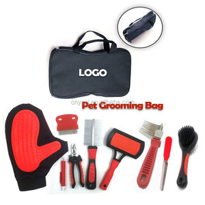 9 Piece Set Pet Grooming Brush Set DeShedding Tool for Dogs