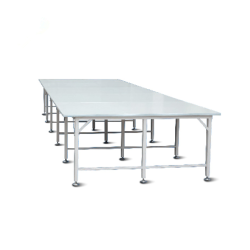 Cloth customized industrial cutting table for garment factory workshop