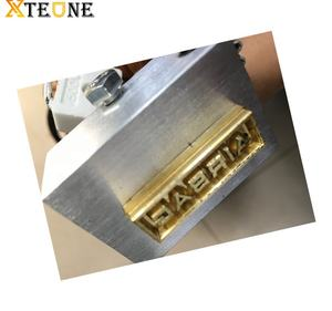 Brass mould srs airbag word stamp for car switch board pvc leather