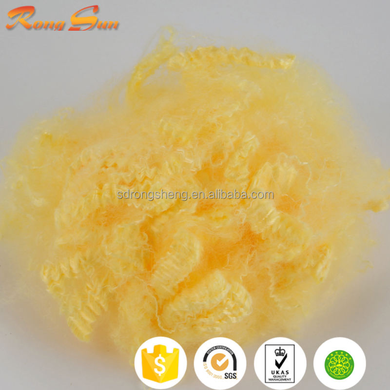 15D solid polyester staple fiber for polyester staple padding