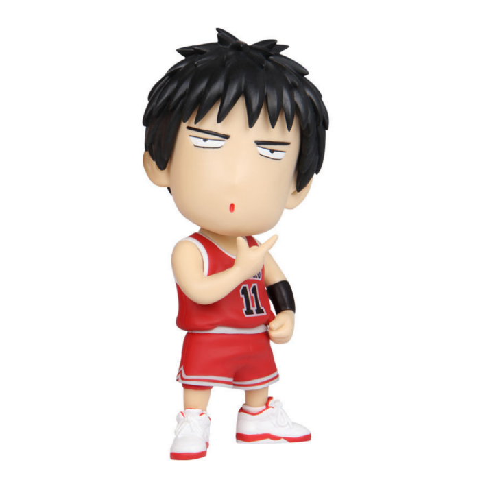 custom eco-friendly basketball 3d pvc anime action figure, OEM toy pvc anime figure