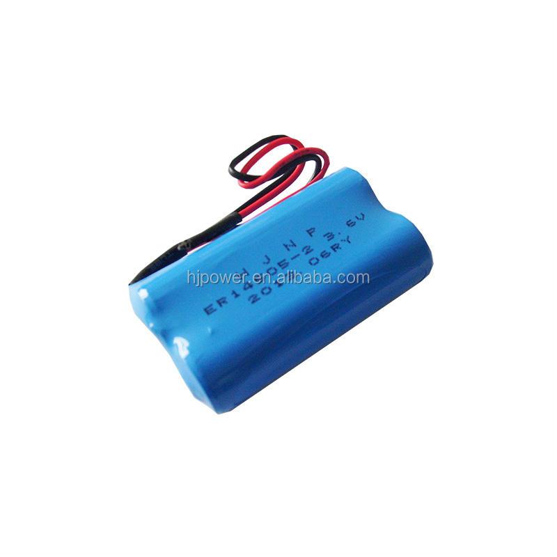 OEM Li-Socl2 batteria er6c aa 3.6 v per Allarme Senza Fili