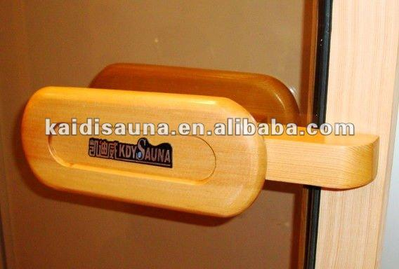 Ruang sauna steam door handle