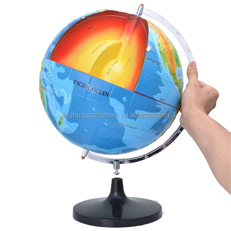 Hot Selling Superior quality the earth's interior structure model globe for wholesale