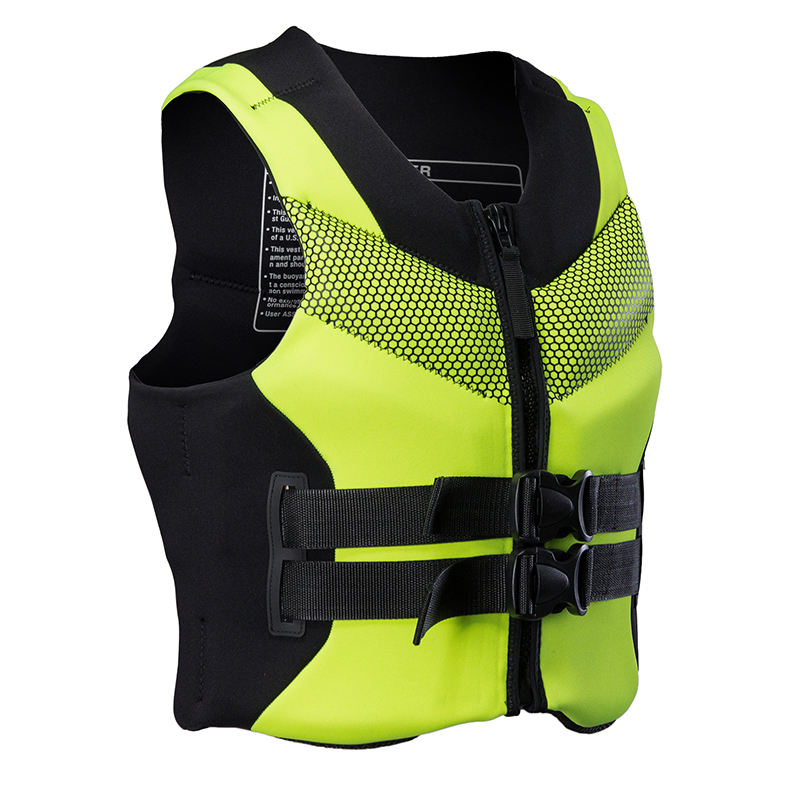 Sbart new arrival water sports safe life jacket personalized life jacket neoprene/pvc swim vest float life vest