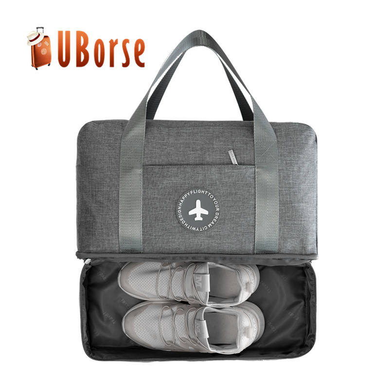 waterproof oxford cloth organizer bag folded travel bag