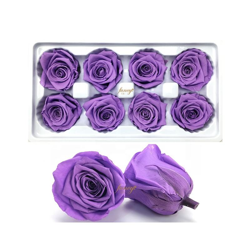 Valentine Flower Box Gift Real Natural Preserved Immortal Stabilized Rose