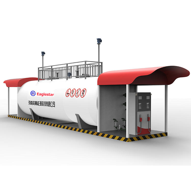 10 20 30 40 50ft containerized fuel gas filling station