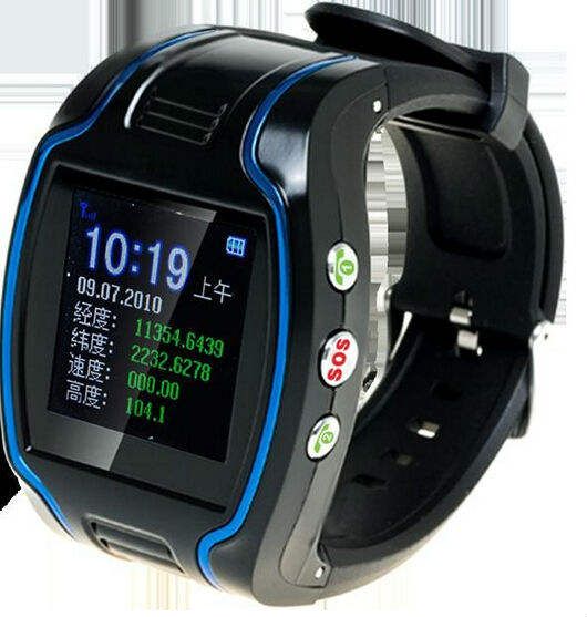 GPS101 Personal Watch Tracker Two Way Communication Timing & Positioning Function SOS Button For Emergency Help