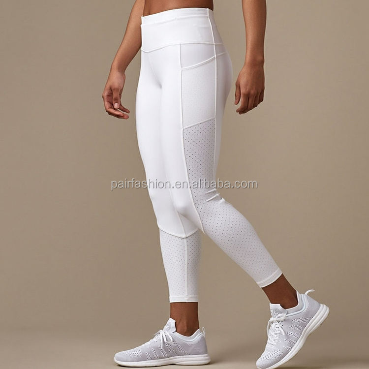 Custom made gym wear compression yoga pants copper brazil fitness wear