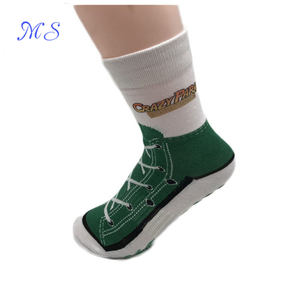 Hot selling colorful comfortable customized anti slip trampoline socks
