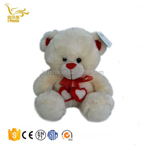 Valentine's gift Teddy bear stuffed plush toys with heart