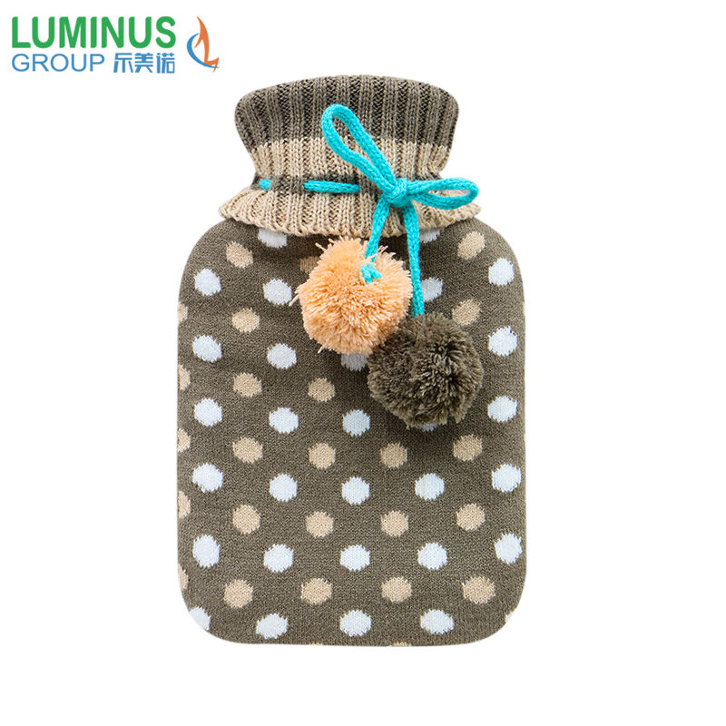 2019 hot water bag plush ball good quality hot water bag