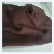 chinese supplier 80s hijab voile fabric 100% polyester muslin cloth factory price