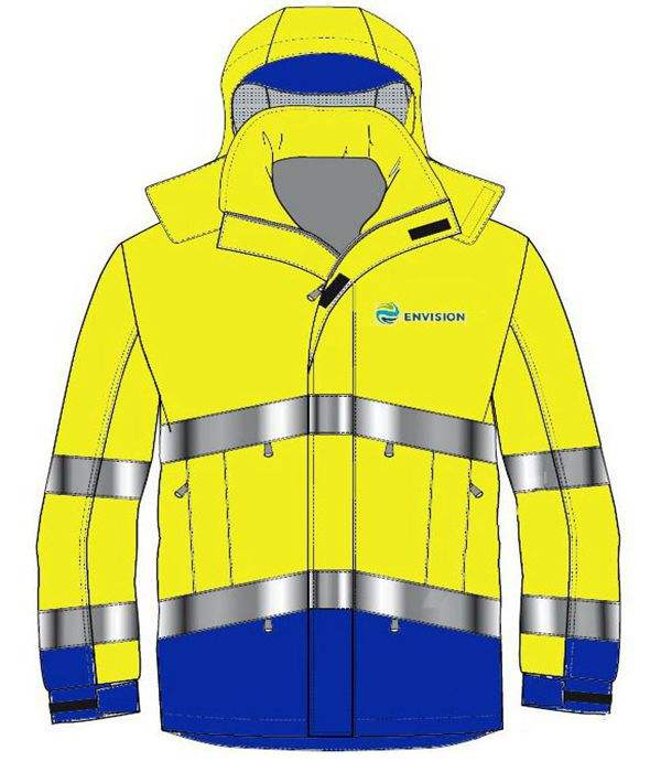2-in-1 High visibility FR winter parka harsh cold and outdoor elements, freeze-proofing clothing