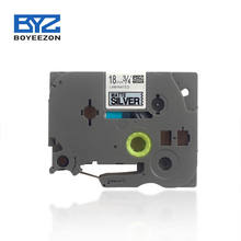 FREE SAMPLE Good price 18mm laminated tze-m941 Brother  label tape cartridge for Brother p touch Printer