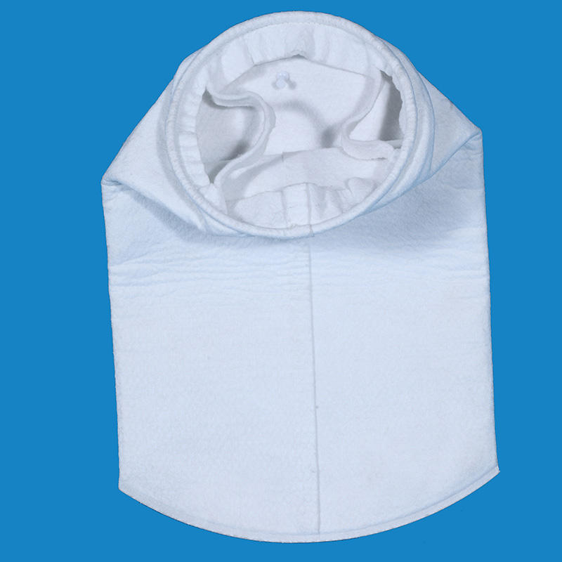 Needle felt polypropylene filter bag for the prefiltration of wine and beer in brewery