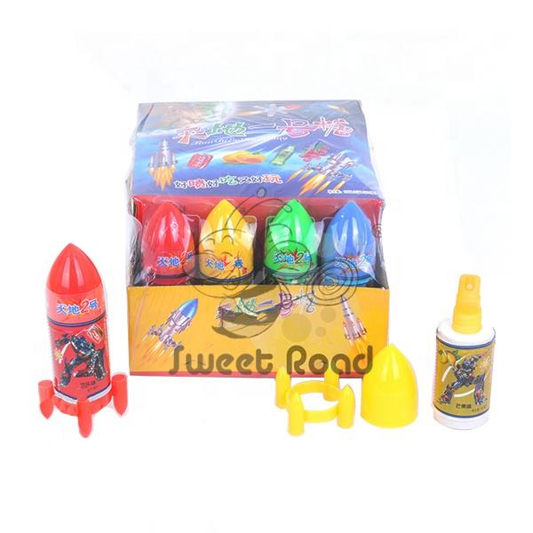 Rocket Shape Spray Candy