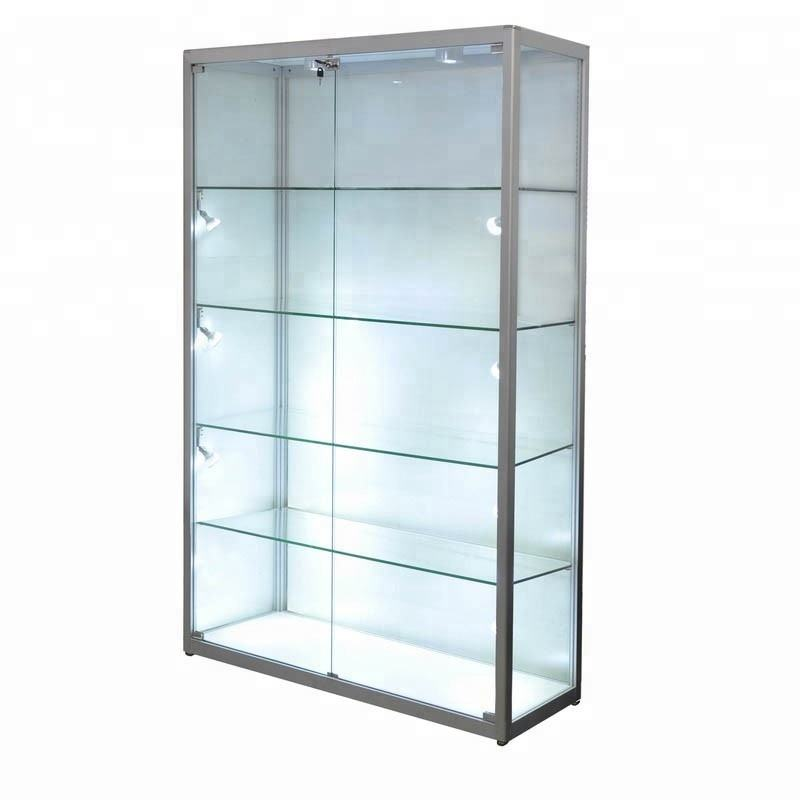 Glass Retail Cabinet with LED Lighting