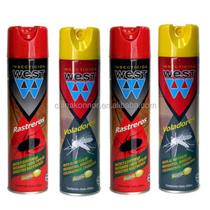 Water Based And Alcohol Base Chemical Insect Killer Aerosol Spray Water