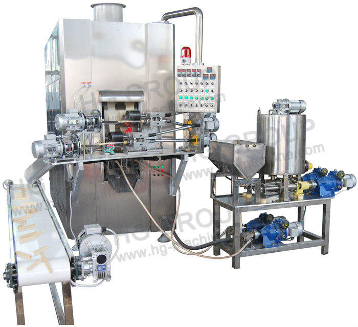 Small production line Wafer stick /egg roll machine
