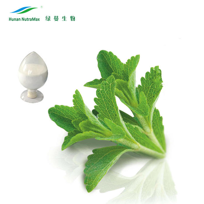 Hot sell organic stevia dry leaves/ tevia leaf extract 30%~99% Reb-A anti allergic