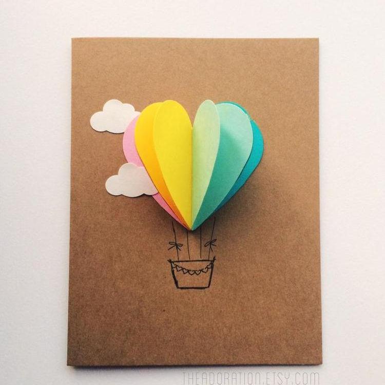 открытка воздушный шар для папы как сделать обсуждать пдд