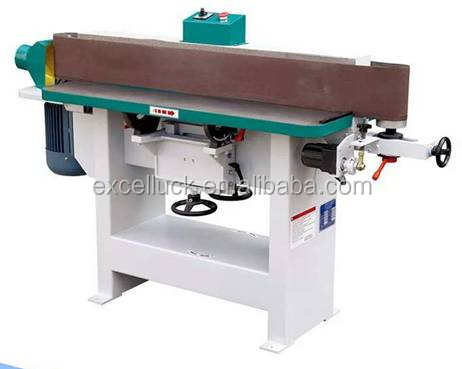 Woodworking oscillating edge sander machine for curved surface