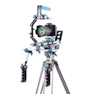 블랙 DSLR 카메라 조작 Mattebox 어깨 지원 키트 카메라 케이지 다른 시리즈 카메라
