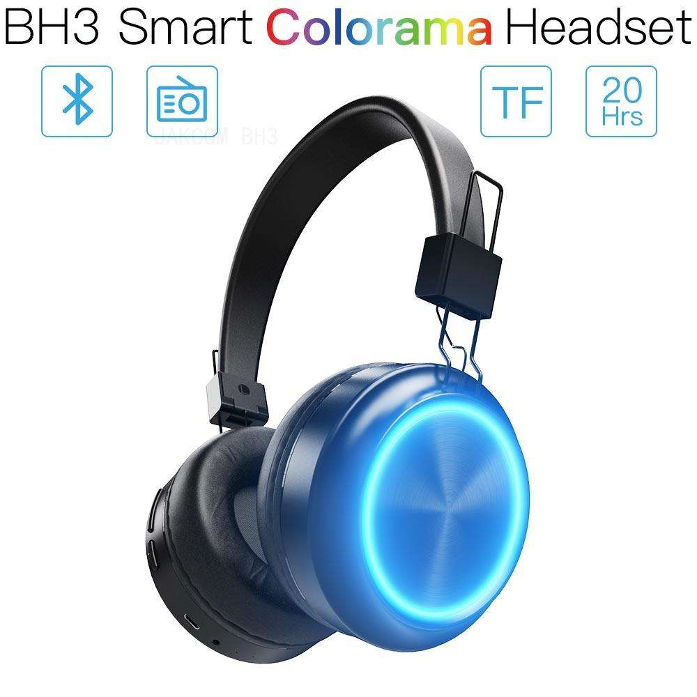 Jakcom BH3 Smart Colorama Headset Dijual dengan Earphone Headphone Sebagai Pelindung Thunder RJ45 M Light Konsol Video Game