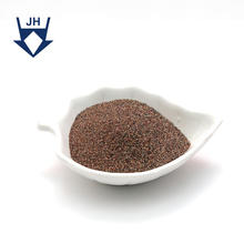 SGS Identification Natural 30/60 Mesh Glass Blast Media Sandblasting Garnet Sand