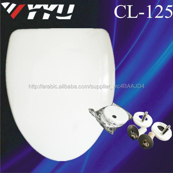 البحر قذيفة cl-125 مقاعد المراحيض uf مقعد المرحاض الأغطية يغطي المصنع الأسعار