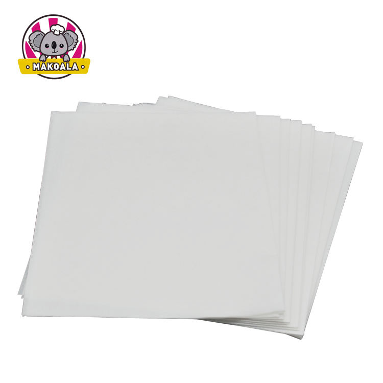Greaseproof printed baking paper sheets parchment paper for burger sandwich wrapper